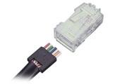 AMP RJ45电缆插头5-558530-4