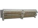 西蒙 100对19英寸机架式配线架(S110DB2-100RFT)