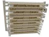 Nexans 100对110跳线架(带腿/空)